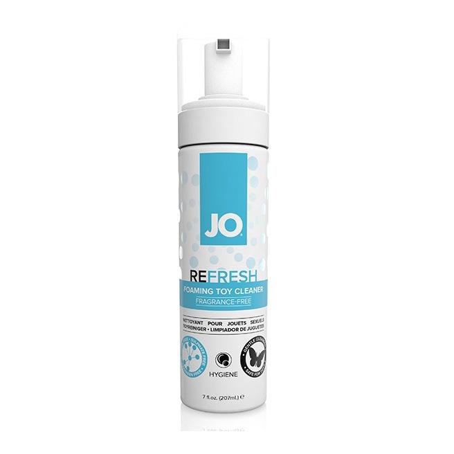 System JO - Nettoyant Sextoys Mousse Refresh 207 ml